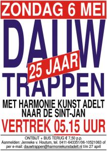 poster dauwtrappen 2018