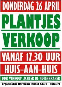 poster plantjesactie 2018