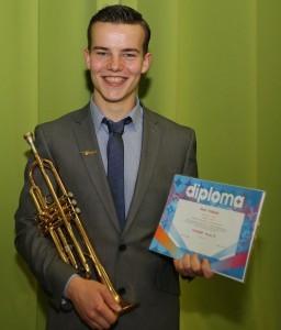 Mart-Mart Pollaerts geslaagd voor D-diploma